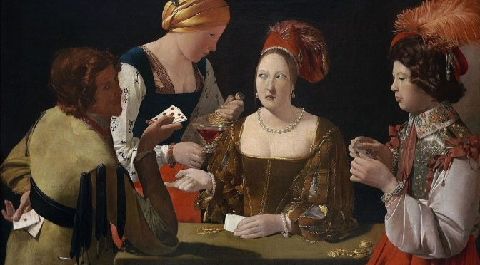 Gambling and cheating in the early modern period